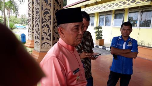Cegah Karhutla di Pelalawan, Bupati Harris Minta BPBD Kumpulkan Perusahaan