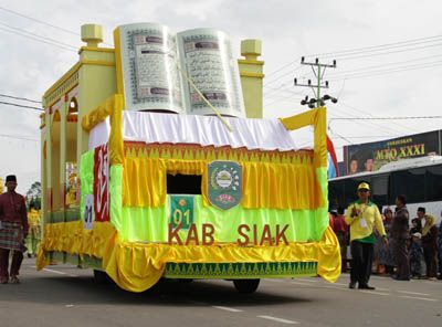 Panggung Pawai Taaruf MTQ Riau Bisa Dipertahankan Hingga Hari Raya
