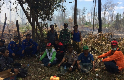 Kebakaran di Meranti Hampir Menyeluruh, Terparah di Kecamatan Merbau