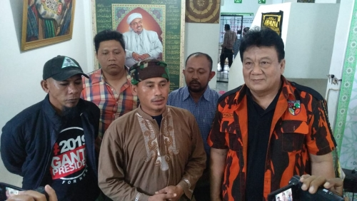 Silaturrahmi, Pemuda Pancasila Riau Berkunjung ke Markas FPI Pekanbaru