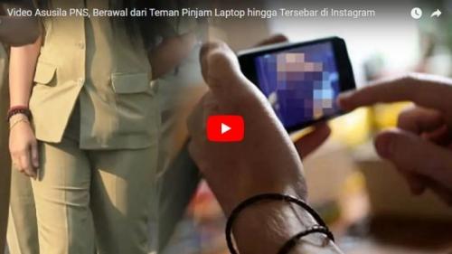 Video Pornonya Viral, ASN Perempuan Pegawai Kemenag Ini Masih Masuk Kerja