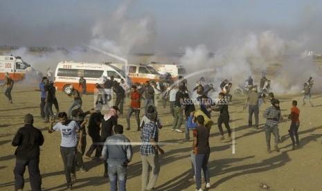 Dalam Sehari, 58 Warga Palestina Tewas Ditembak Pasukan Israel, 2.700 Orang Terluka