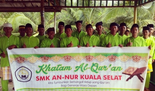 Isi Kegiatan Positif saat Ramadan, SMK An-Nur Kuala Selat Inhil Terjunkan Para Siswa untuk Safari dan Tadarus ke Masjid dan Mushala