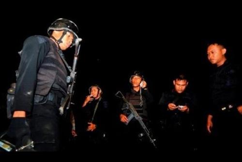 Densus 88 Tembak Mati Terduga Teroris di Manukan