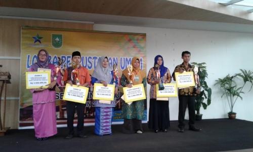 Perpusdes Jangkang Juara Tingkat Provinsi Riau