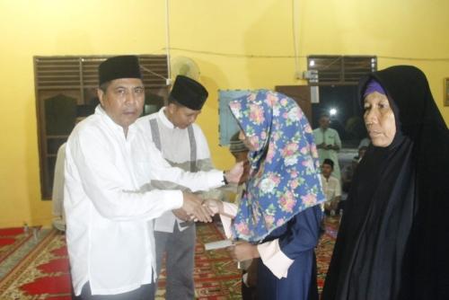 Rombongan Safari Ramadan Sekda Siak Kunjungi Kampung Tertua di Sungai Selodang