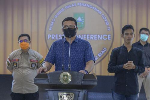 Tambah 1 dari Klaster Ponpes Magetan, Positif Covid-19 di Riau Jadi 95 Kasus