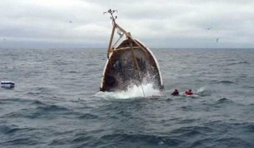 Kapal Motor Berpenumpang 30 Orang Karam, 2 Tewas dan 8 Hilang