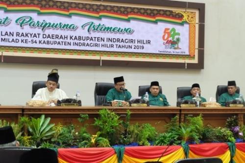 Terkait Permasalah Jalan, PDAM dan Kelapa, Ketua DPRD Inhil : Harus Gerak Cepat, Sehingga Masyarakat Tak Merasa Kehilangan Pemimpinnya