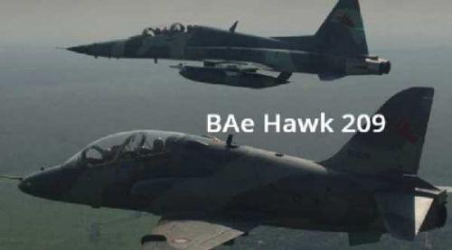 Pesawat TNI AU yang Jatuh di Kubang Kampar Riau Jenis BAe Hawk 209
