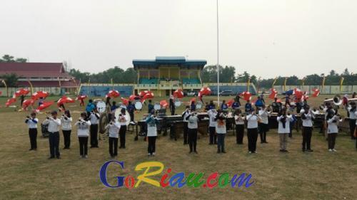 Marching Band Peraih Piala Tetap Presiden akan Tampil di Stadion Mini Duri Saat Upacara HUT ke-71 RI