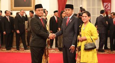 Jokowi Angkat Komjen Syafruddin Jadi Menpan RB, Ini Pertimbangannya