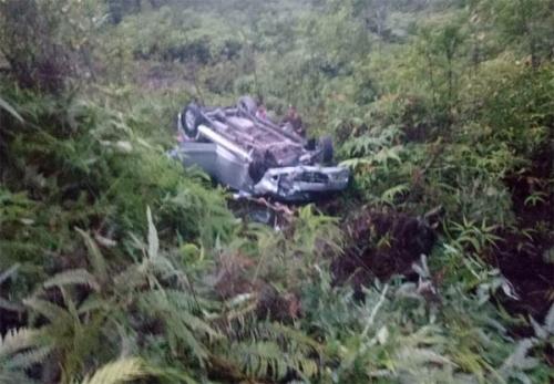 Kecelakaan Maut Terjadi di Kilometer 84 Pulau Gadang Lintas Sumbar - Riau