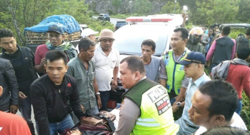 Ini Kronologis dan Data Korban Kecelakaan Maut di Kilometer 84 Pulau Gadang Lintas Sumbar - Riau
