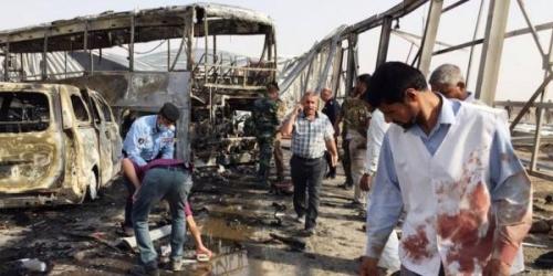 83 Orang Tewas dan 93 Terluka Akibat Serangan Bom Mobil di Irak
