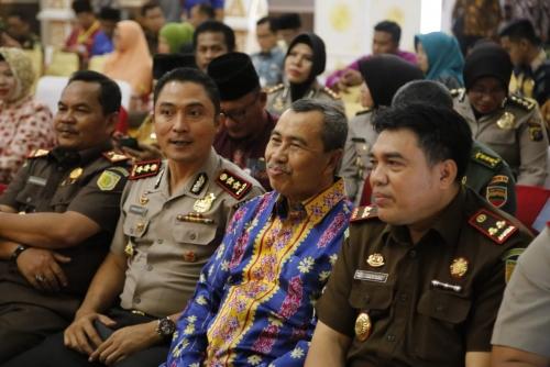 Cegah Terjadinya Korupsi, Unsur Pimpinan di Kabupaten Siak Komitmen Bekerjasama dengan APIP dan APH