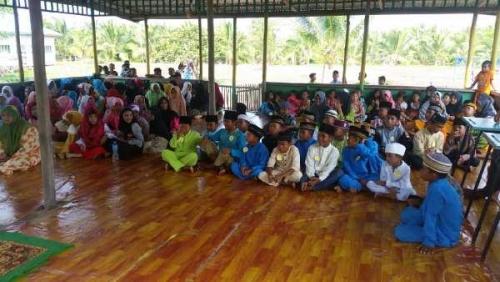 Dari Lomba Adzan hingga Membaca Ayat Pendek Jadi Cara Anak-anak di Pesisir Inhil Sambut Tahun Baru Islam