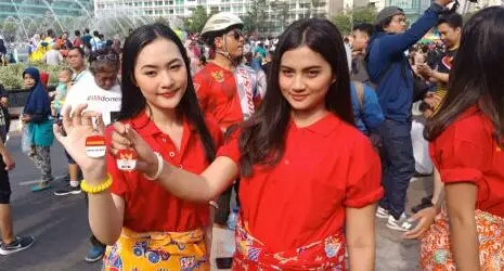 Demo Dukung Revisi UU KPK di Bundaran HI, 2 Mahasiswi Cantik Ini Tak Tahu Nama Pimpinan KPK