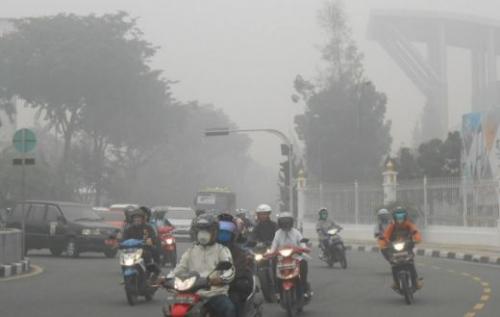 Kualitas Udara Pekanbaru Terburuk di Riau