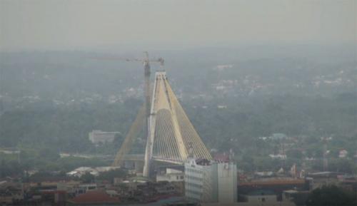 BNPB: Kabut Asap Tipis Masih Selimuti Pekanbaru Riau, Kualitas Udara Tidak Sehat