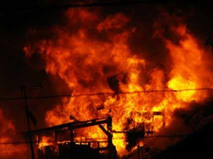 126 Kios Terbakar, Kerugian Capai Miliaran Rupiah