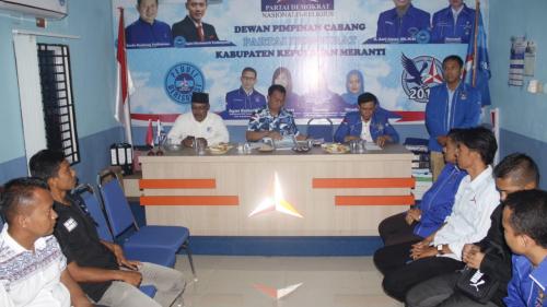 DPC Partai Demokrat Buka Pendaftaran Bupati dan Wakil Bupati Kepulauan Meranti Periode 2020-2025