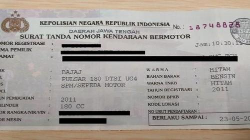Pemutihan Denda Pajak Kendaraan di Riau Dimulai Hari Ini