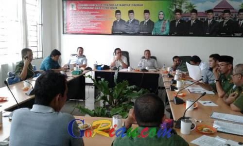 Komisi I DPRD Inhil Komit Selesaikan Sengketa Masyarakat dan Perusahaan
