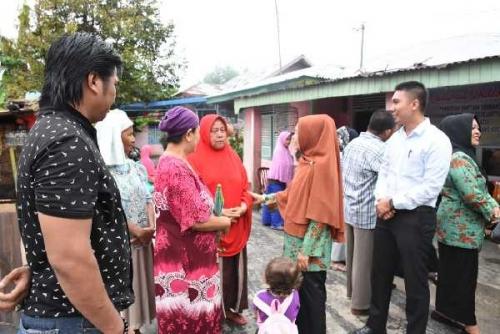 K3S Kampar Berikan Bantuan Sembako untuk Korban Kebakaran