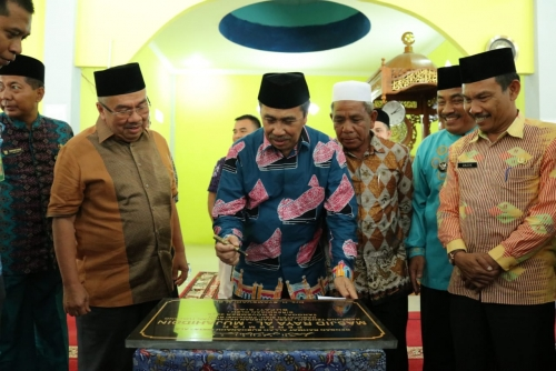 Bupati Siak Ajak Masyarakatnya Makmurkan Masjid