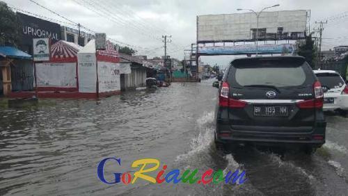 Masih Jadi Langganan Banjir, Ini Upaya Dinas PUPR Pekanbaru