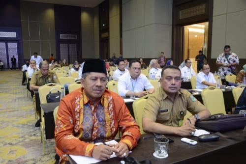 Agar Serapan Dana Desa Tepat Sasaran, Wakil Bupati Siak Dengarkan Paparan Wapres JK pada Rakor P3MD di Jakarta