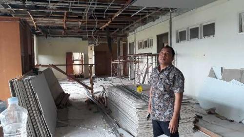 Rehab Gedung DPRD Pelalawan Terancam Mangkrak, Dewan Sampaikan Soal Ini