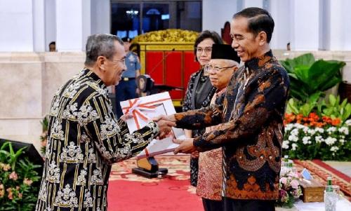 Gubernur Riau Terima DIPA Tahun 2020 Sebesar Rp25,2 Triliun