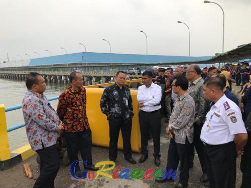 Delegasi Malaysia: 11 Bulan untuk Siapkan Fasilitas dan Regulasi Operasional RoRo Dumai - Malaka