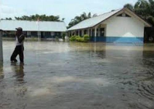 Banjir di Rantau Kopar Rohil, 300 Rumah Terendam