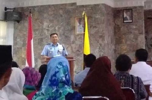 Lanud Roesmin Nurjadin Adakan Sosialisasi Penerimaan Siswa SMA Pradita Dirgantara, Ini Syarat Masuknya..