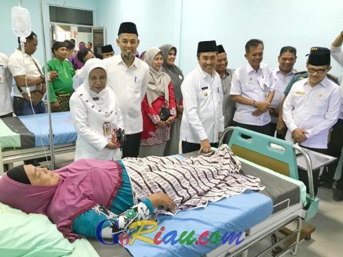 Gubri Syamsuar Kecewa Masih Ada Warga Miskin di Riau Belum Dapat Pelayanan Kesehatan dari BPJS