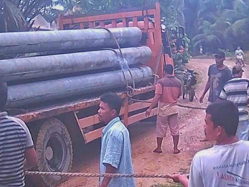 Pemasangan Tiang Listrik di Kecamatan Pinggir dan Talang Muandau Dihentikan BBKSDA Riau