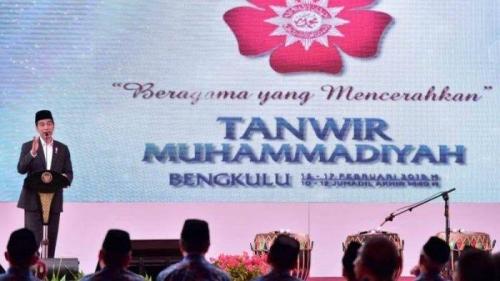 Haedar Nasir Minta Peserta Tanwir Muhammadiyah Tak Acungkan Jari di Depan Jokowi