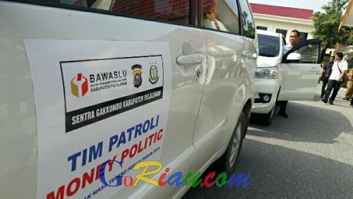 Masa Tenang, Bawaslu Pelalawan Aktif Patroli Pengawasan Cegah Praktek Politik Uang