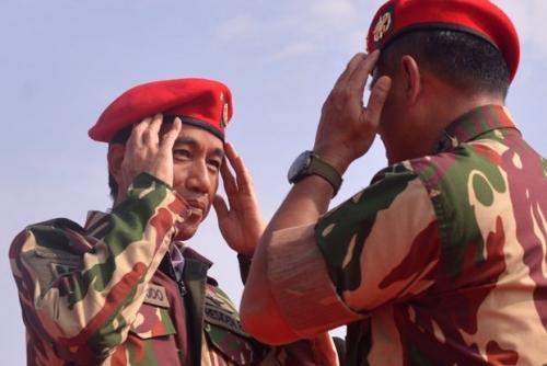 Direstui Jokowi, Koopssusgab TNI Diaktifkan Tanggulangi Terorisme
