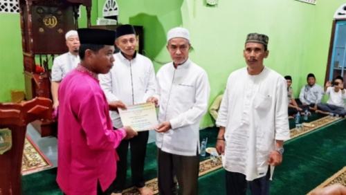 Wabup Said Hasyim Safari Ramadhan di Desa Tanjung Sari Tebing Tinggi Timur