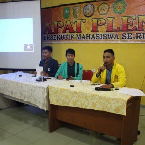 Mahasiswa Kuansing Dukung Hasil Pemilu 2019