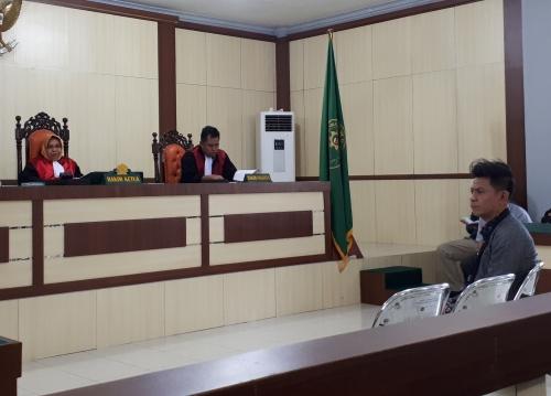 Sidang Lanjutan Terdakwa Direktur PT DSI dan Mantan Kadishutbun Siak, Saksi Ahli Sebut SK Menhut Diduga Dipalsukan