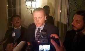 Presiden Turki Tak Begitu Panik Dikudeta, Katanya Pihaknya Akan Segera Ambil Alih Situasi