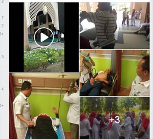 Beredar Luas, Video Satpol PP Kampar Tendang Ibu-ibu yang Demo di Kantor Bupati