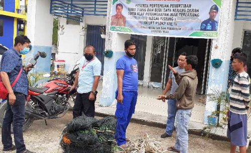 Patroli PSDKP Wilayah III Bagansiapiapi Amankan Satu Kapal Pukat Trail Trawl