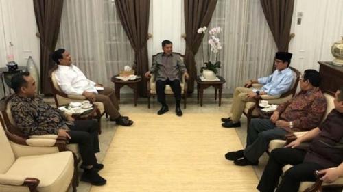 Terima Kunjungan Prabowo dan Sandiaga, Ini yang Dikatakan Jusuf Kalla