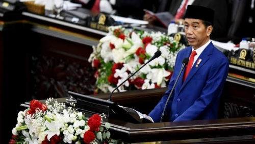 Jokowi Sebut Pembangunan Infrastruktur Digencarkan Demi Keadilan Ekonomi